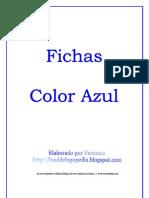Fichas Color Azul