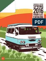 Chronicle Books Spring 2016 Frontlist Catalog