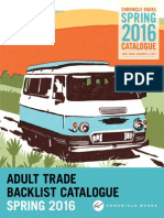 Chronicle Books UK Spring 2016 Adult Trade Backlist Catalogue