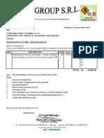 PRESUPUESTO  N° 099 SEÑALIZACION HORIZONTAL CONSTRUCTORA GUERRA