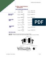 Mathcad - Cálculo de Ejes Norma DIN
