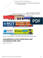 Amendments to the Arbitration and Conciliation Bill, 2015 _ Live Law.pdf