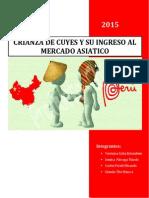 Caso - Crianza de Cuyes y Su Ingreso Al Mercado Asiatico - Cantones