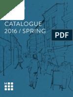 Moleskine Spring 2016 Catalog