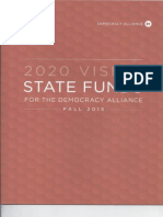 Democracy Alliance State Funds, Fall 2015