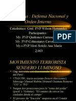 TERRORISMO PERU