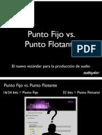 Punto Fijo vs. Punto Flotante