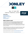 Coon Ley Hour of Code Lesson Plan 2015