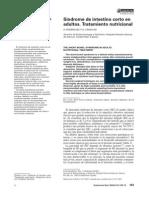2004 – Síndrome de Intestino Corto en Adultos. Tratamiento Nutricional.