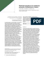 2005 – Nutrición Basada en La Evidencia Presente, Limitaciones y Futuro.