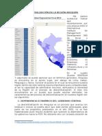 Descentralización en La Región Arequipa