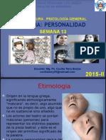 Personalidad y Sus Tipos Ing 2015 - II