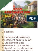 Assessment Grade 4 Arts