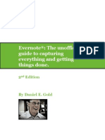 2nd Edition Evernote the Unofficial Guide to Capturing Everything and Getting Things Done
