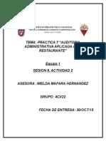 Practica de auditoria administrativa