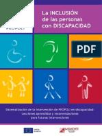 Inclusion de Las Personas Con Discapacidad