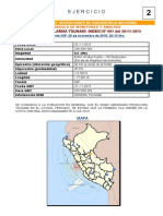 Boletin Alarma Tsunami Indeci Nº 001 Del 20-11-2015