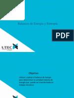 Energía y entropía