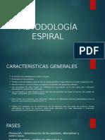 METODOLOGÍA ESPIRAL
