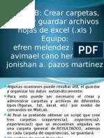 Matlab-manipulacion de Archivos Excel Desde Matlab