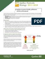 Quebec Pesticide Strategy 2015-2018 enbref-en