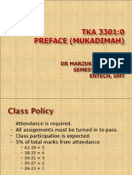 AIR QUALITY AND POLLUTION (TKA 3301)  LECTURE NOTES 1-Mukadimah