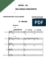 Giuliani Concerto2 Op36 Orch3