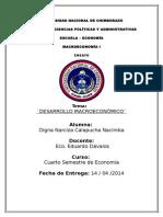 Ensayo Desarrollo Macroeconómico - Copia 1