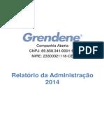1010_Grendene - Relatório Da Administração 2014