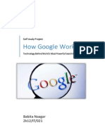 SEARCH ENGINES and PAGERANK