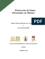 LA PROTECCION DE DATOS PERSONALES EN MEXICO..pdf