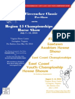 Region15 East Cast Priz List 2010