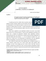 HANNAH ARENDT- ENTRE A HISTÓRIA, A POLÍTICA E A NARRAÇÃO.pdf