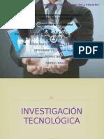 Investigacion Tecnologica e Innovacion Tecnologica