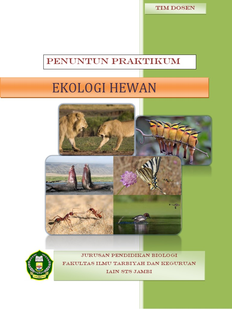 Penuntun Praktikum Ekologi Hewan 1