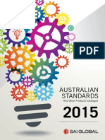 _CATALOGUE 2015 Australian Standards and Other Products
