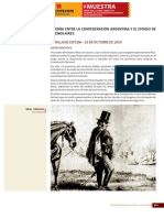 374 381 Grandes Batallas de La HistoriaGuerra Entre La Confederación Argentina y El Estado de Buenos Aires