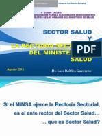 1 Sector Salud y Rectoría Sectorial 2013