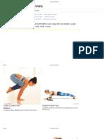 Arm Balance Yoga Poses