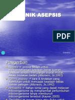 67180882 Teknik Asepsis