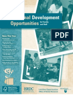 Catalog of Professional Development Programs
