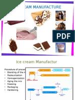 Ice Ream Manufacture