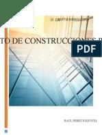 Reglamento de Construcciones Para d.f