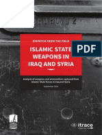 ISLAMIC STATE WEAPONS IN IRAQ AND SYRIA