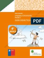 4° BÁSICO - GUÍA DIDÁCTICA LENGUAJE Y COMUNICACIÓN