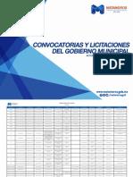 Convocatorias y Licitaciones del Gobierno Municipal Octubre 2015 - Gobierno de Matamoros.