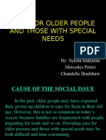Social Studies -CARE FOR OLDER PEOPLE AND THOSE WITH SPECIAL.pptx