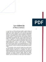 6 Lectura Violencia Thriller