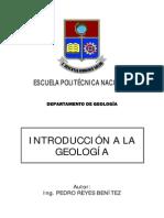 Introducción a La Geología - Pedro Reyes