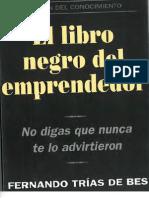 El Libro Negro Del Emprendedor Fernando Trias de Bes Capitulos